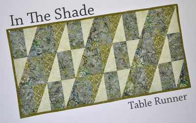 In The Shade Table Runner Kit
