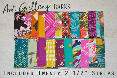 Art Gallery Strip Pack: Darks