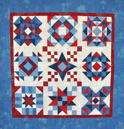 "Americana Barn Quilt Kit: 41"" x 41"""