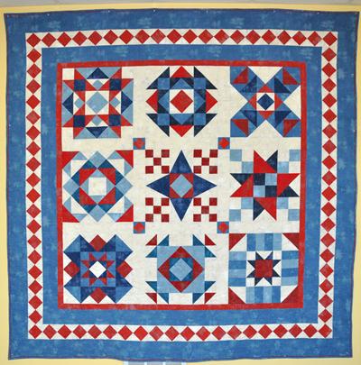 "Americana Barn Quilt Kit: 90"" x 90"""