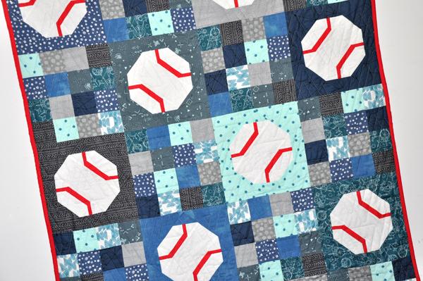 Batter Up Quilt Kit