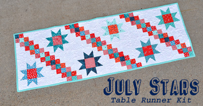 July Stars Runner Kit