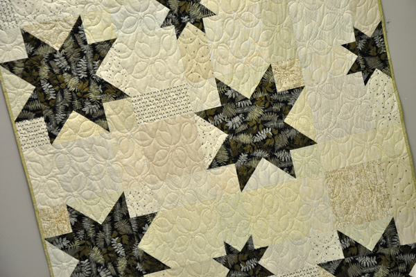 Stargazer Quilt Kit: Green Thumb