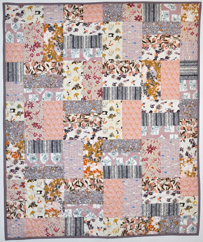 Busy Bee Quilt Kit: Dusty Lavender