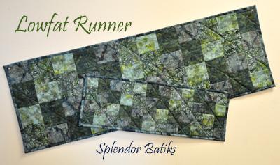Low Fat Runners Kit: Splendor Batiks