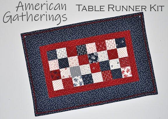 American Gatherings Table Runner Kit
