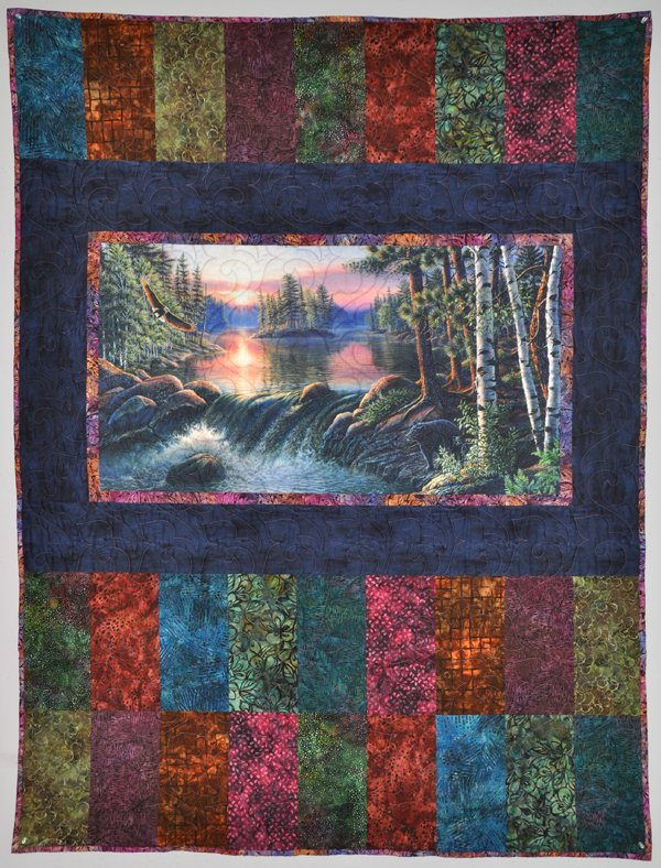 Back Country Hideaway Panel Quilt Kit