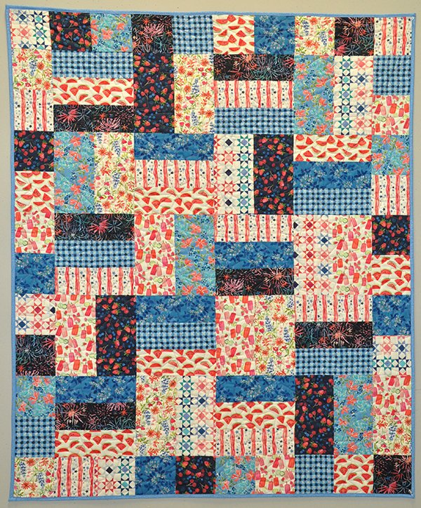 Busy Bee Quilt Kit: American Summer