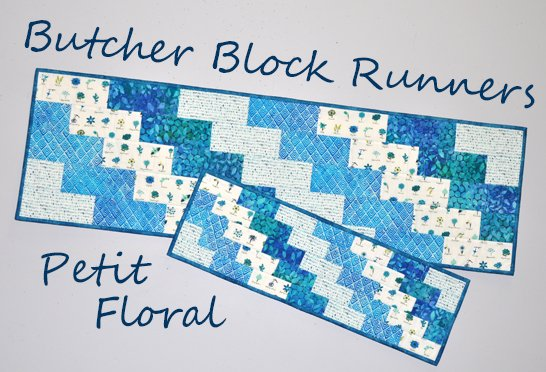 Butcher Block Runners Kit: Petit Floral