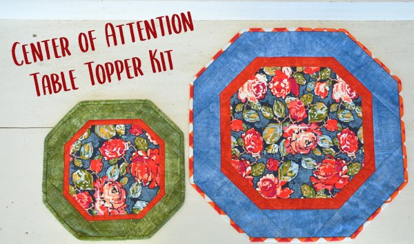 Center of Attention Topper Kit: Winter Floral