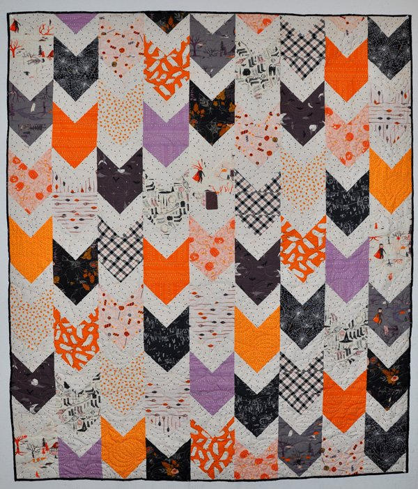 Chevy and Chevette Quilt Kit: Spooky and Sweet
