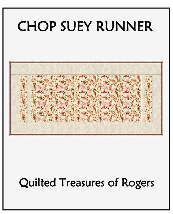 Chop Suey Table Runner Pattern
