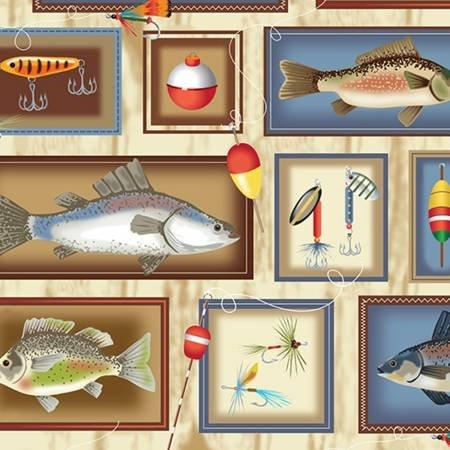 Gone Fishing Cuddle 60