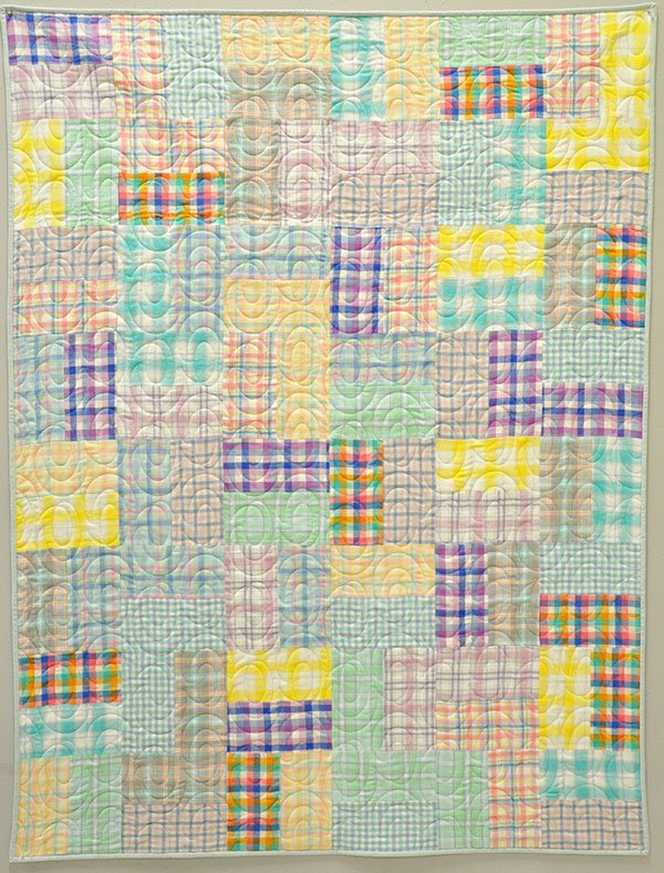 Double Down Lap Quilt: Mammoth Junior Flannel