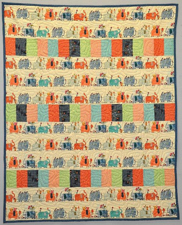 Elephant Walk Quilt Kit