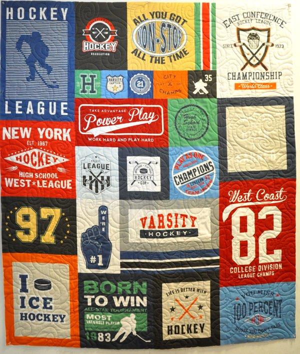 Hockey Panel Quilt Kit