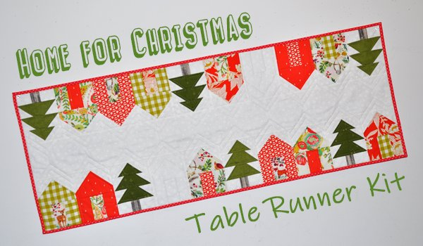 Home for Christmas Table Runner Kit