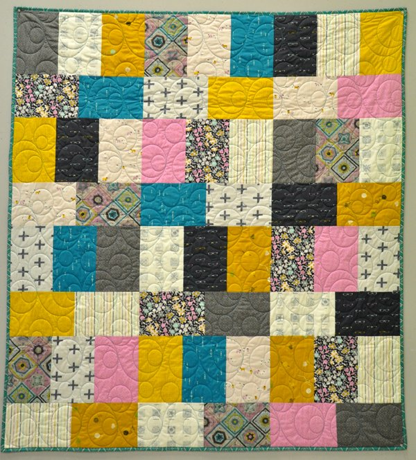 Honey Bouquet Quilt Kit: Hooked