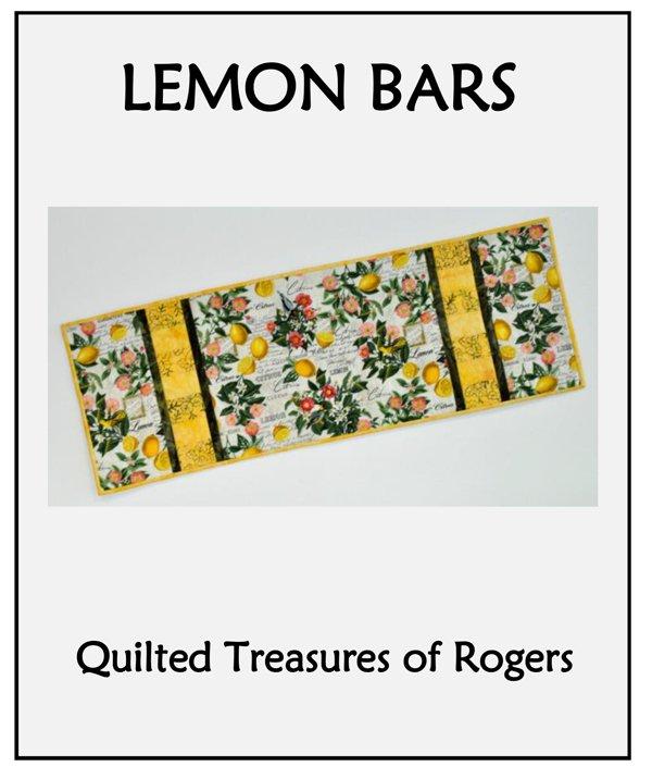 Lemon Bars Table Runner Pattern