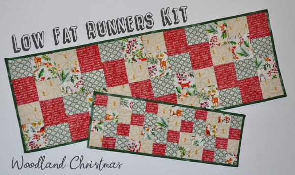 Low Fat Runners Kit: Woodland Christmas