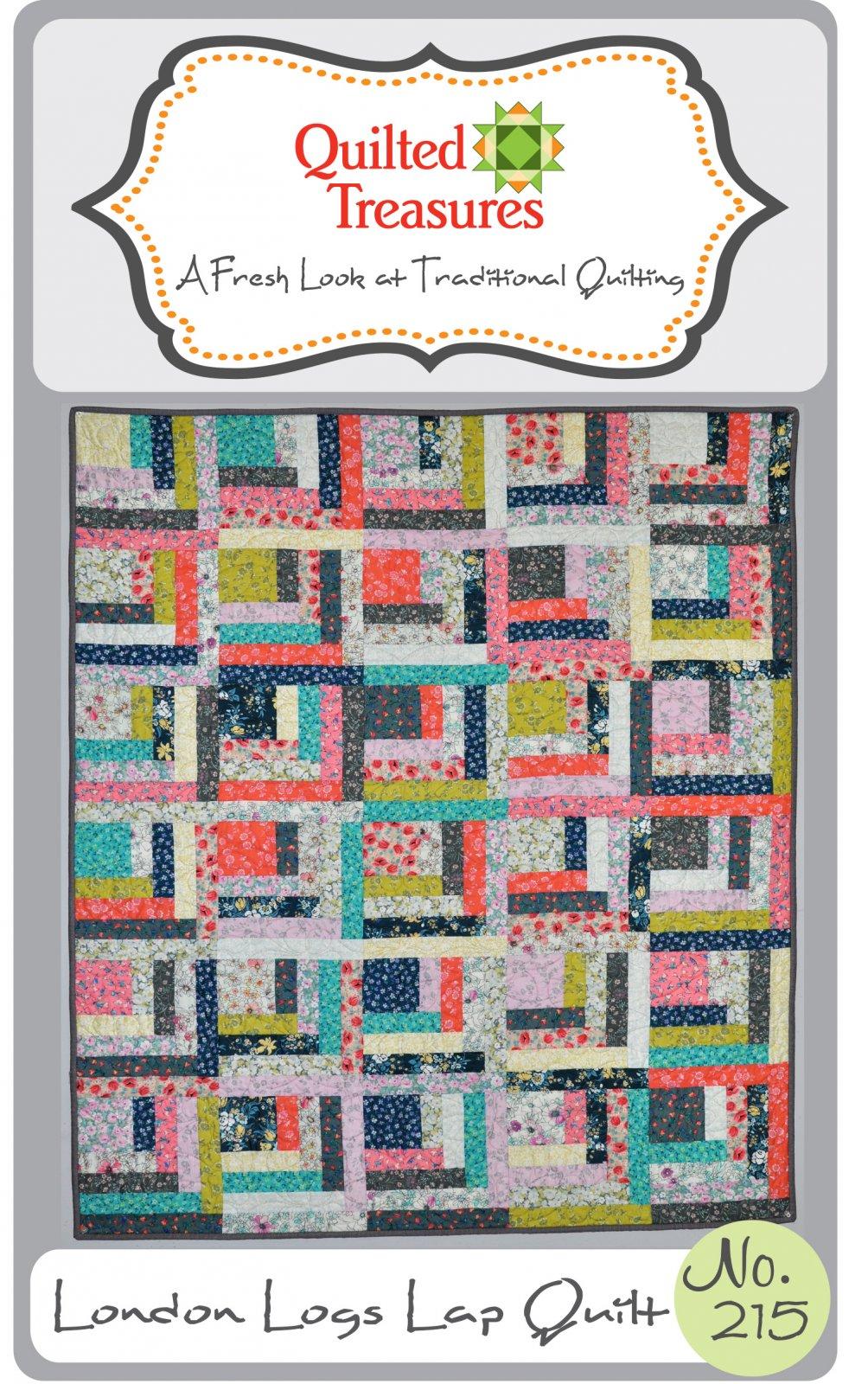 215: London Logs Quilt Pattern