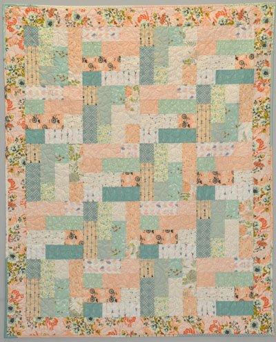 Market Road Floral Quilt Kit