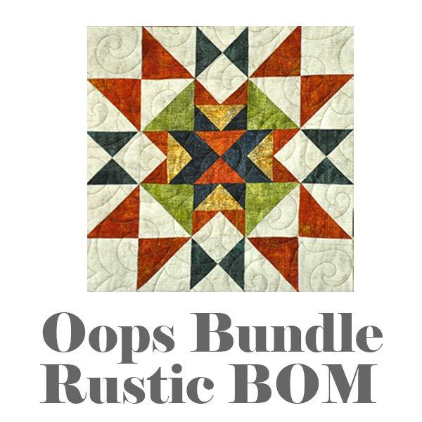 Oops Bundle: Rustic BOM