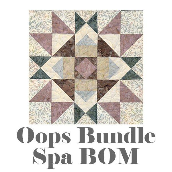 Oops Bundle: Spa BOM