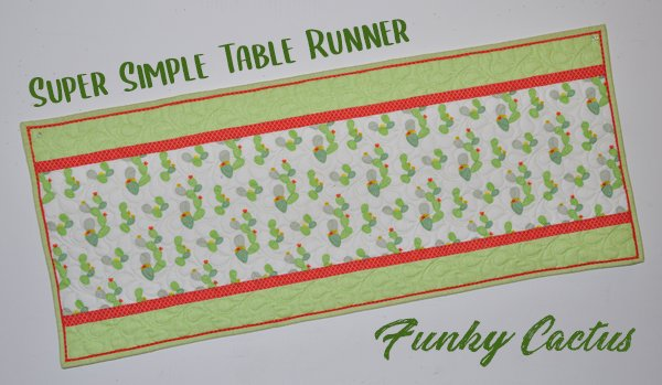 Super Simple Runner Kit: Funky Cactus