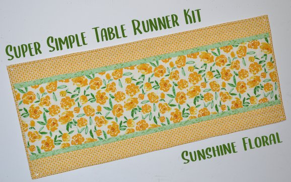 Super Simple Runner Kit: Sunshine Floral