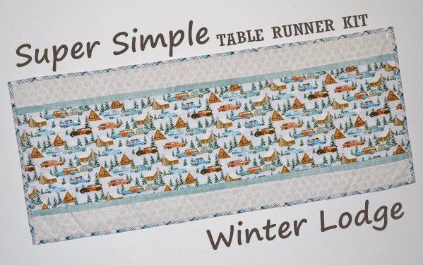 Super Simple Runner Kit: Winter Lodge