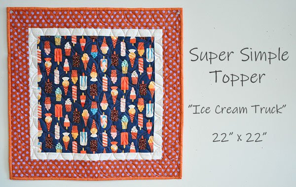 Super Simple Topper: Ice Cream Truck