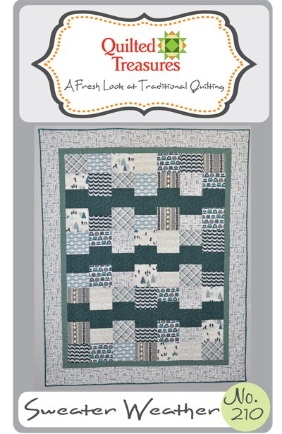 210: Sweater Weather Lap Quilt Pattern