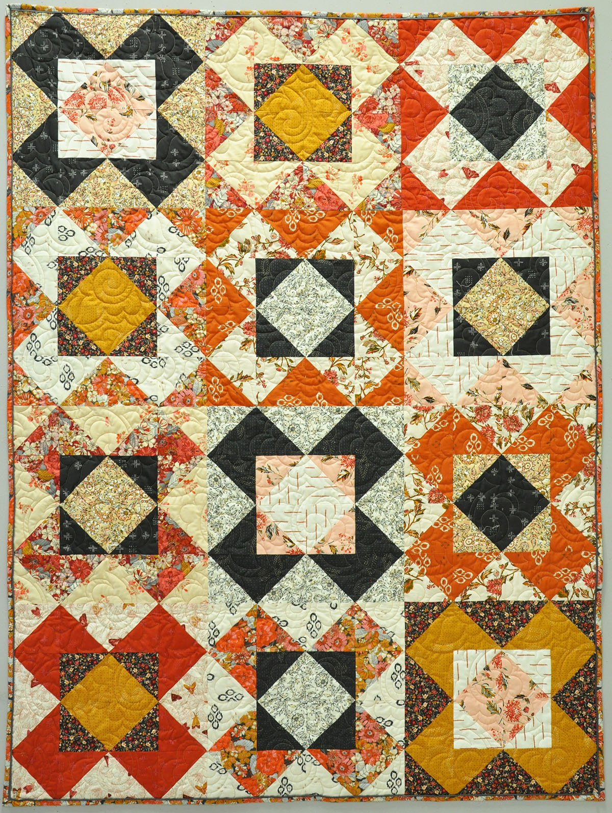 Sweet Sixteen Lap Quilt Kit