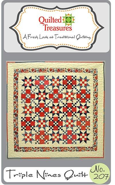 207: Triple Nines Quilt Pattern