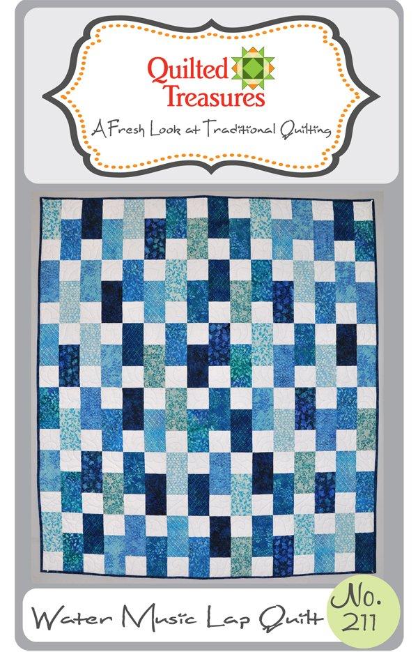 211: Water Music Lap Quilt Pattern