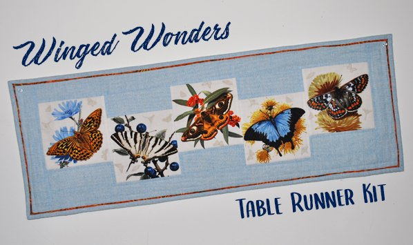 Winged Wonders Table Runner Kit