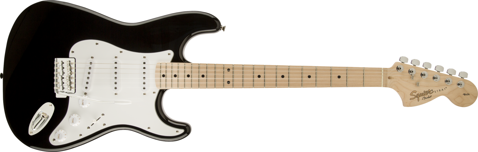 Fender/Squier Affinity Series Stratocaster, Maple Fingerboard, Black