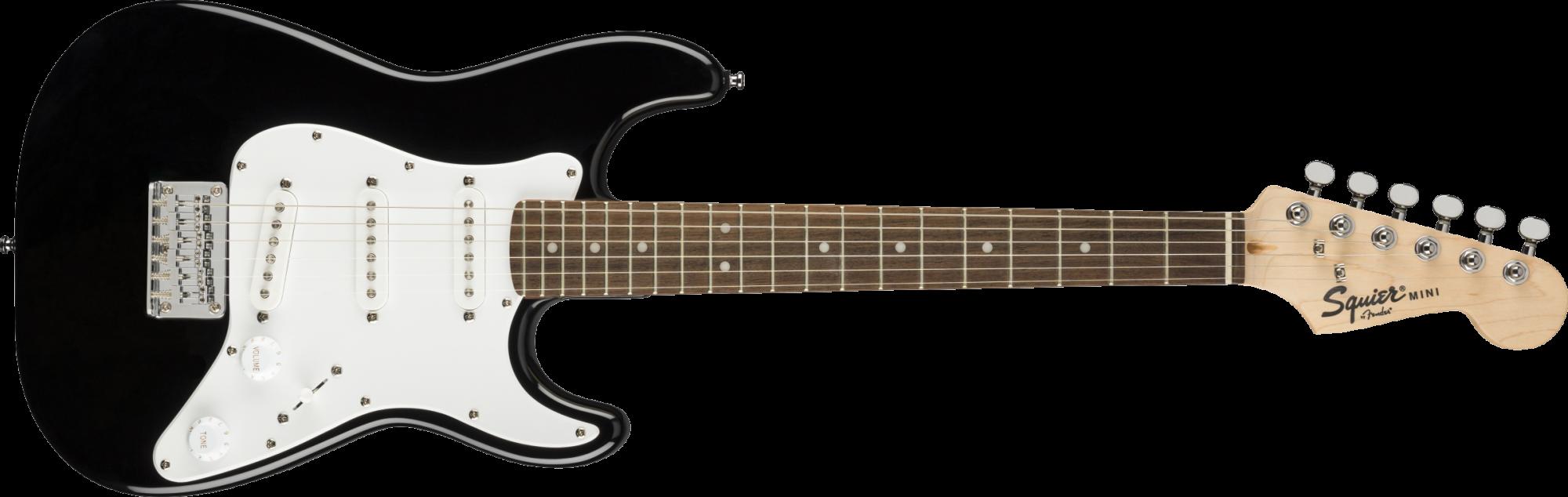 Fender/Squier Mini Stratocaster, Laurel Fingerboard, Black