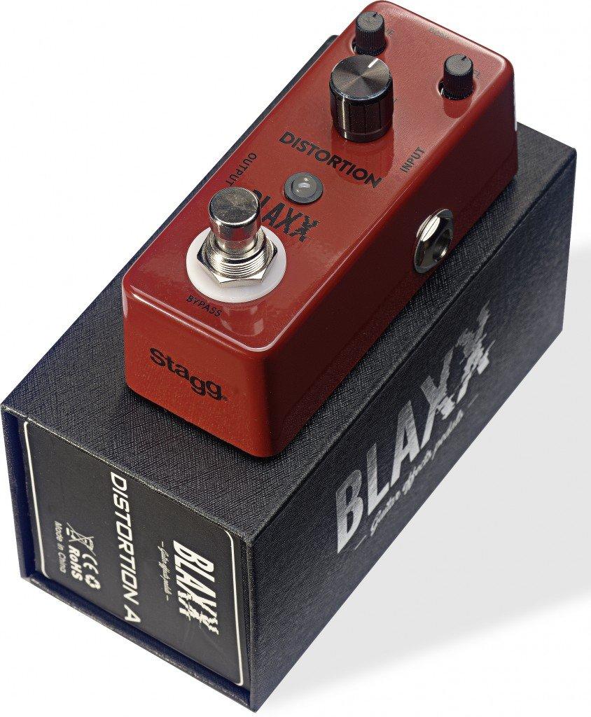 Blaxx 3 Modes Distortion Mini Pedal