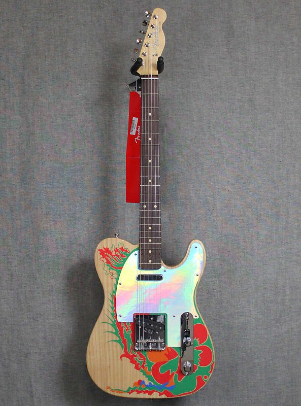 Jimmy Page Telecaster - Rosewood Fingerboard, Natural