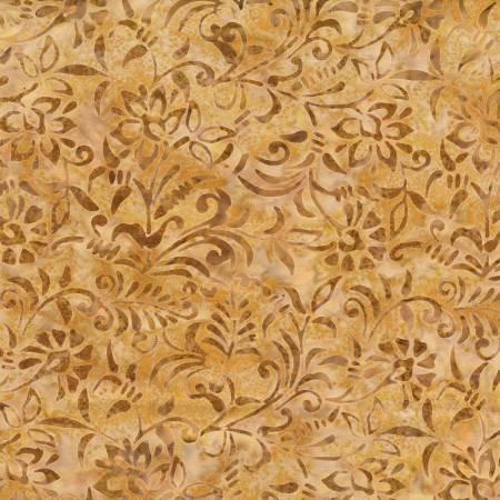22257-225 - Wilmington Batiks Damask - Golden Brown