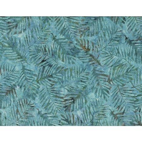 22262-742 - Wilmington Batiks Palm Leaves - Aqua