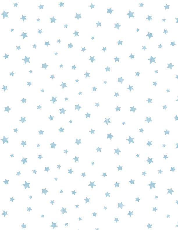 28146-141 - Wilmington Prints New Friends Stars - White