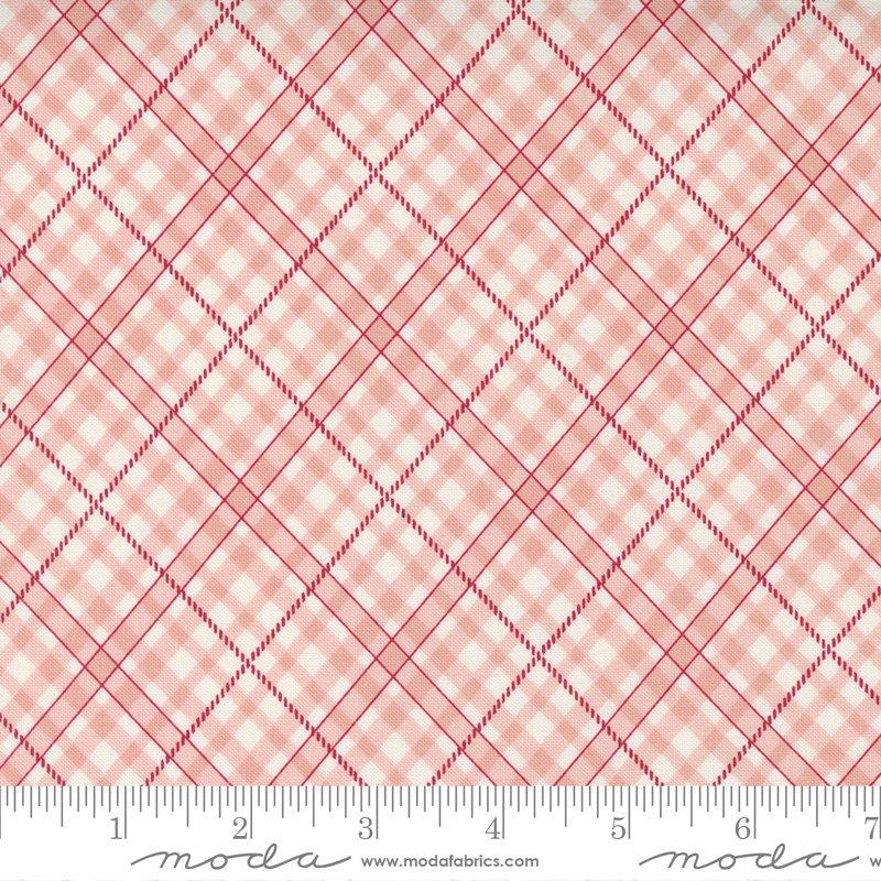 14924 17 - Moda Belle Isle Bias Plaid Check - Pink