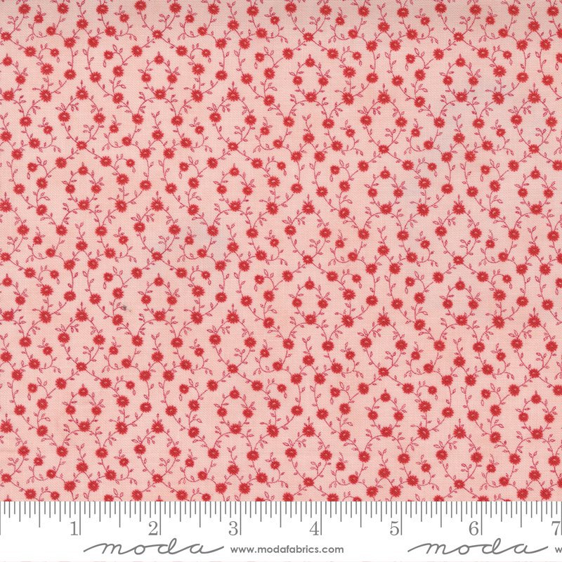 14926 17 - Moda Belle Isle Calico - Pink