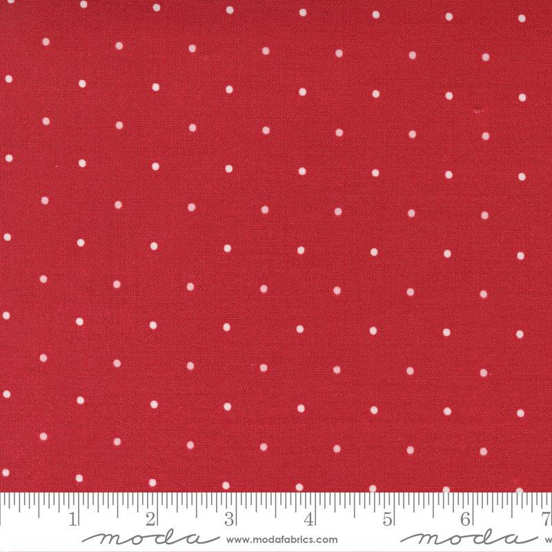 14927 12 - Moda Belle Isle Dots - Red