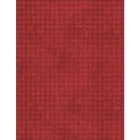 82646-333 - Wilmington Building Dreams Grid - Red