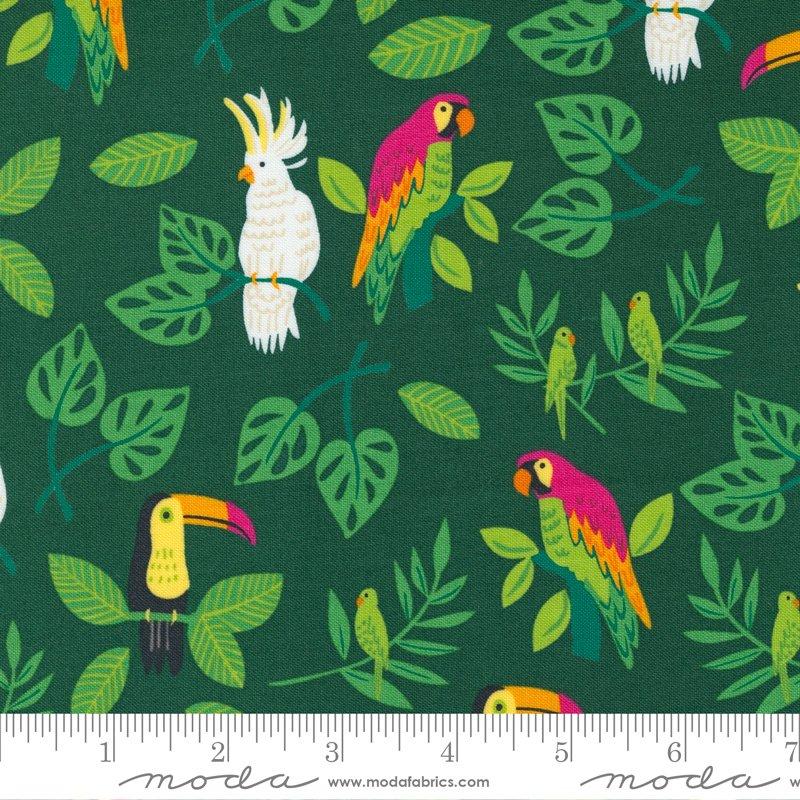 20782 22 - Moda Jungle Paradise Birds in Paradise - Palm