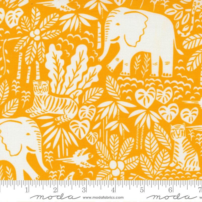 20785 14 - Moda Jungle Paradise Jungle Scene - Tiger